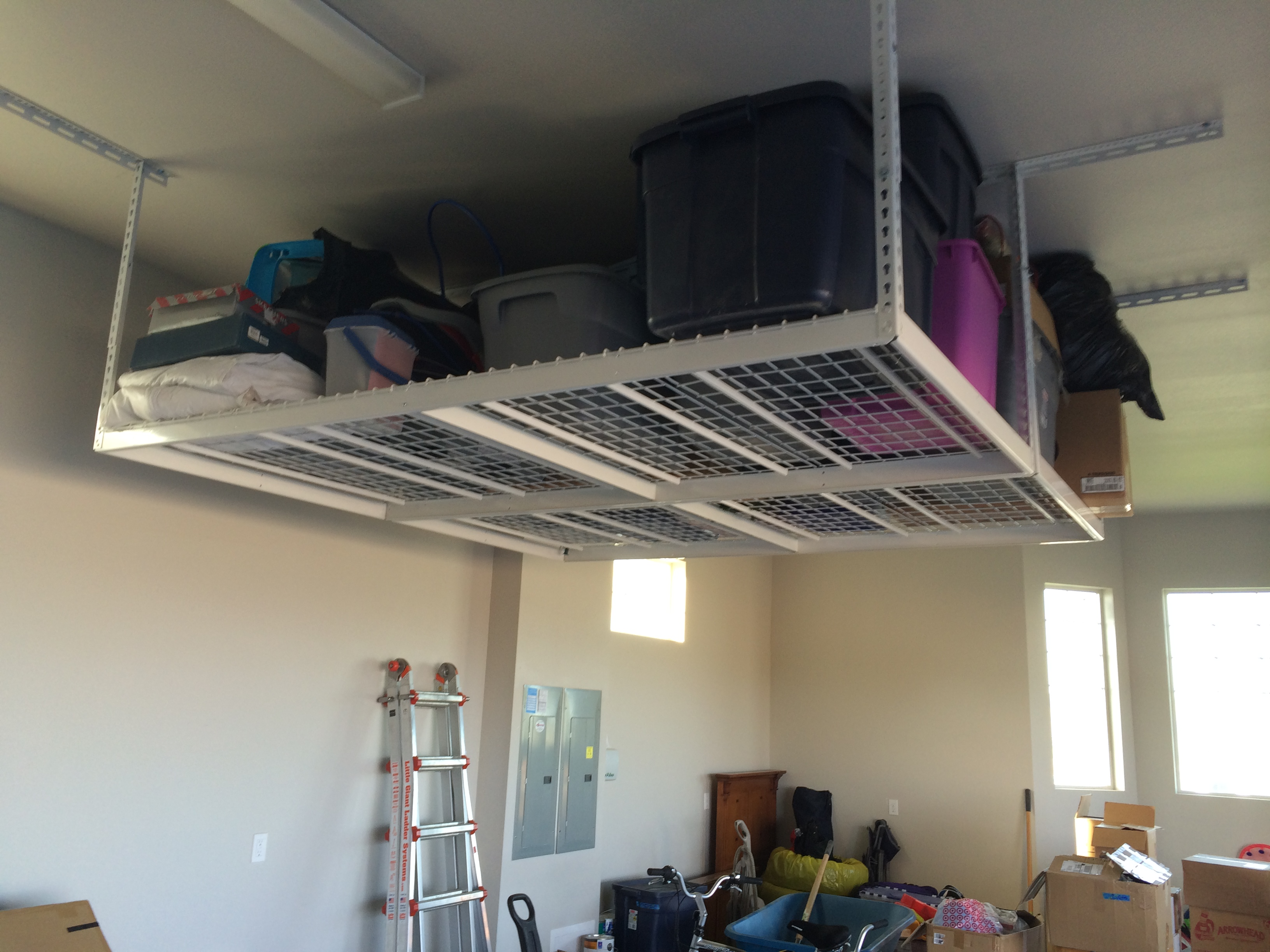 Benefits Of Ceiling Storage Racks